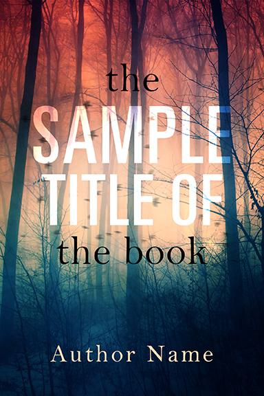 PRE-DESIGNED BOOK COVER 206